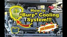 andys garage how to quot burp quot cooling system andy s garage episode 17