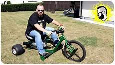 drift trike mit 12 ps motor und 125ccm power