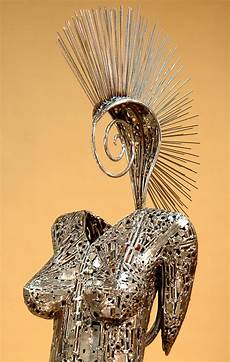 amazing metal sculptures made from reclaimed bronze welded sculptures made from recycled materials by brian