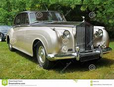 vintage luxury cars rolls royce limousine editorial photo