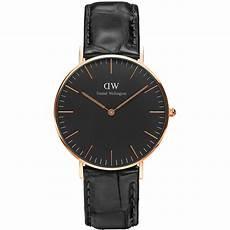 montre daniel wellington noir daniel wellington reading montre en cuir noir brandalley