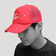 topi trucker desain sendiri topi custom murah bisa satuan