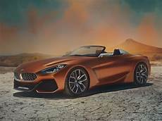 bmw unveils new z4 concept sports car at pebble