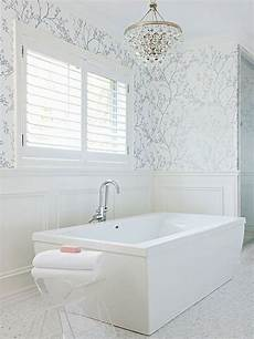 wallpaper for bathrooms ideas get wallpaper in your bath this weekend in 2019