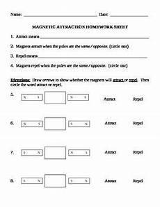 physical science magnetism worksheet 13147 magnets unit magnetic attraction worksheet science vocabulary magnets science worksheets