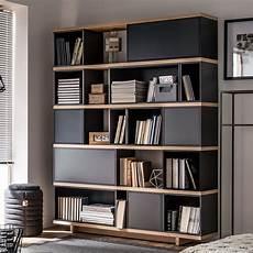 vox balance modular bookcase in grey oak effect en 2018
