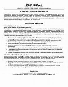 marketing analyst resume printable planner template