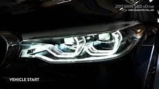 2017 bmw 5 series us icon adaptive led headlights