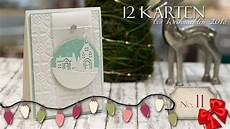 12 Karten Weihnachten 2018 11 Weihnachten Daheim