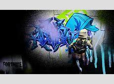Graffiti Desktop Wallpaper : FortNiteBR