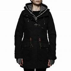 khujo damen jacke winterjacke aitne with inner jacket navy