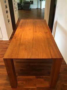 nussbaum tisch nussbaum tisch 180x80 massivholz kaufen auf ricardo