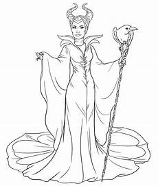 maleficent disney sleeping coloring pages