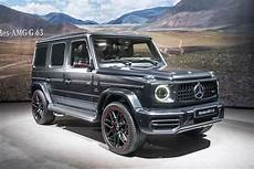 2019 mercedes amg g63 brings 577 hp to geneva roadshow