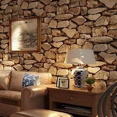 livingroom wallpaper vintage 3d stereo brick wallpaper rock wallpaper imitated