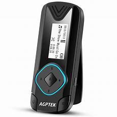 agptek clip mp3 player 8gb mini digital for