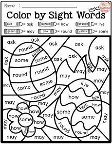 color by number reading worksheets 16235 color by code sight words grade sight words grade sight words words