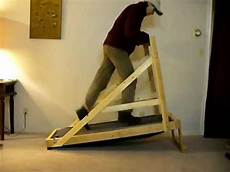build your own treadmill