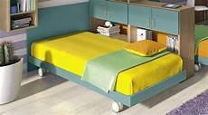 letto ruote letto singolo sommier colorato con ruote per cameretta