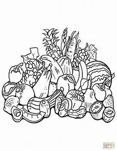 free printable fall harvest coloring pages free printable