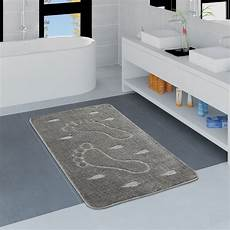 badezimmer teppich badezimmer teppich einfarbig fu 223 abdruck teppichcenter24