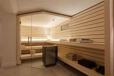 sauna im keller was beachten luftschutzbunker wird zur design sauna gesamtansicht
