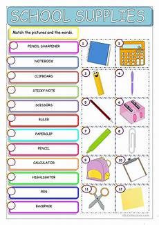 worksheets school supplies 18456 school supplies worksheet free esl printable worksheets made by teachers
