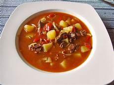 Rezept Für Gulaschsuppe - ungarische gulaschsuppe suri5 chefkoch