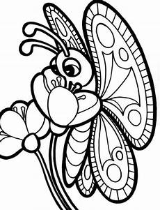 Ausmalbild Schmetterling Blume Butterfly Coloring Pages Free On Clipartmag