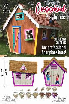 kids crooked house plans 110 crooked playhouse plans 2 craft mart