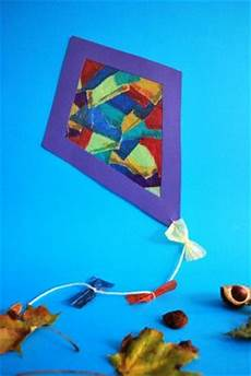 drachen aus schnipseltechnik drachen basteln basteln