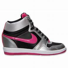 Nike Wedges White Pink price 60 nike wmns sky high 629746 006 black