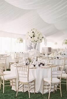 White Wedding Theme Reception
