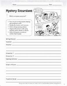 composition worksheets for grade 6 22713 mystery excursion grade 6 narrative writing lesson printable assessment tools and checklists