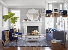 Hgtv Gray Living Rooms a s day living room makeover hgtv