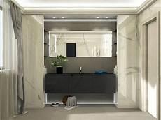 idea bagno oggi bagno moderno ed elegante grandi lastre ed illuminazione
