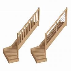 Quart Tournant Bas A 1713 Escaliers Flin