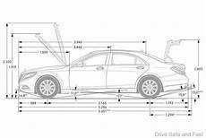 dimensions classe a mercedes c e and s class the key differences in