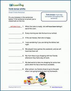 grammar worksheets class 5 24737 grade 5 verbs worksheets k5 learning