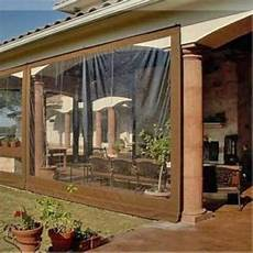 clear tarp for patio waterproof commercial grade 0 5mm vinyl clear awning canopy patio enclosure ebay