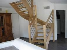 escalier quart tournant escaliersbois64800 escalier 224 2 quarts tournant avec