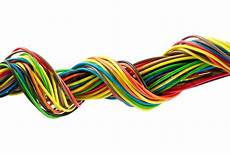 color wires isolated white background colourbox