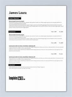 22 best cv templates images pinterest resume templates cv resume template and cv template