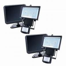 nature power black solar powered motion activated outdoor 60 led security light 2 22052