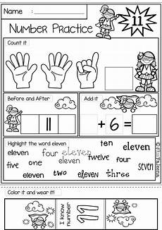 number 1 20 practice the bundle 20 in number words and first grade