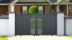 Portail Aluminium Ajour 233 Coulissant Bondi 3 5 M Hauteur 1
