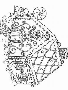 gingerbread coloring pages free printable