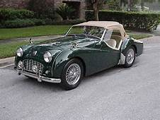 1956 Triumph TR3 In BRG With 22 Engine SOLD  Car And Classic
