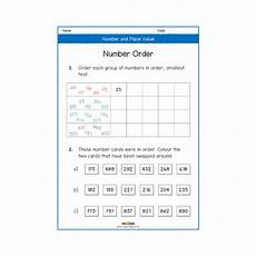 number and place value year 3 worksheets primary maths ks2 melloo