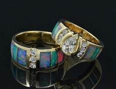 australian opal wedding ring md250 cs014 opal